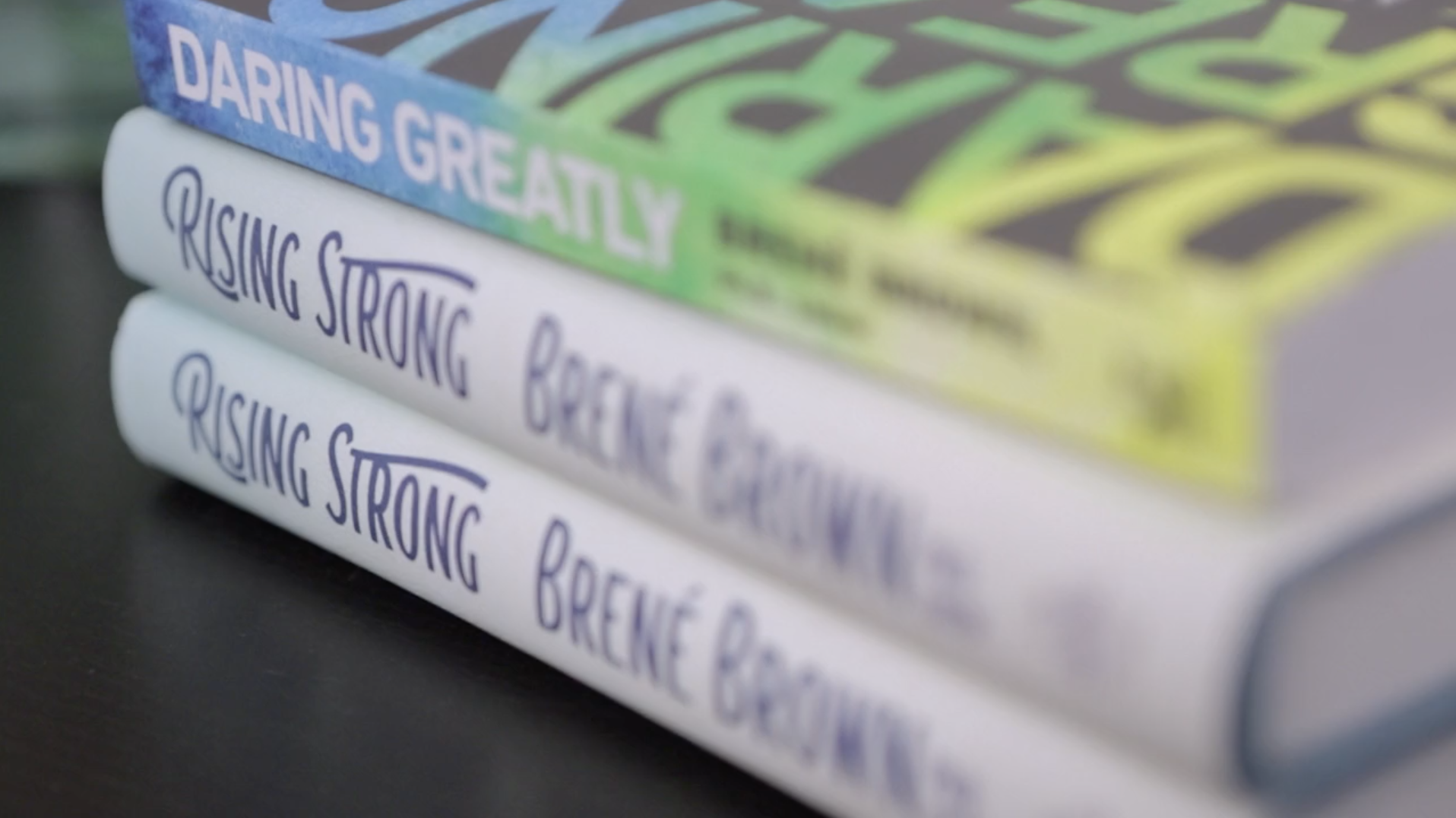Brene Brown Rising Strong Books